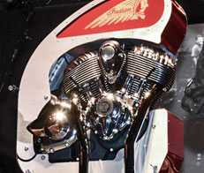 New 111 Thunder Stroke Engine by Indian