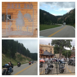 Getting into Deadwood and Sturgis