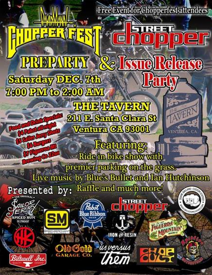 Tavern Pre-Party Choper Fest